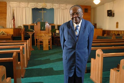The Rev. James Young was founder and pastor of Mount Canaan Baptist Church
