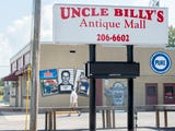 A black woman who visited Uncle Billy's Antique Mall in Pensacola had an interaction with the store manager over their selling of a KKK figurine.