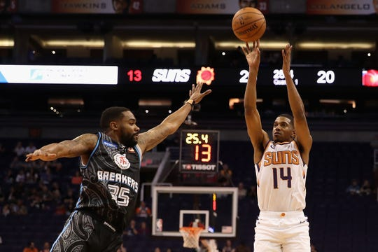 De'Anthony Melton had two points with one steal and one assist in the Suns' preseason victory Wednesday over the New Zealand Breakers.