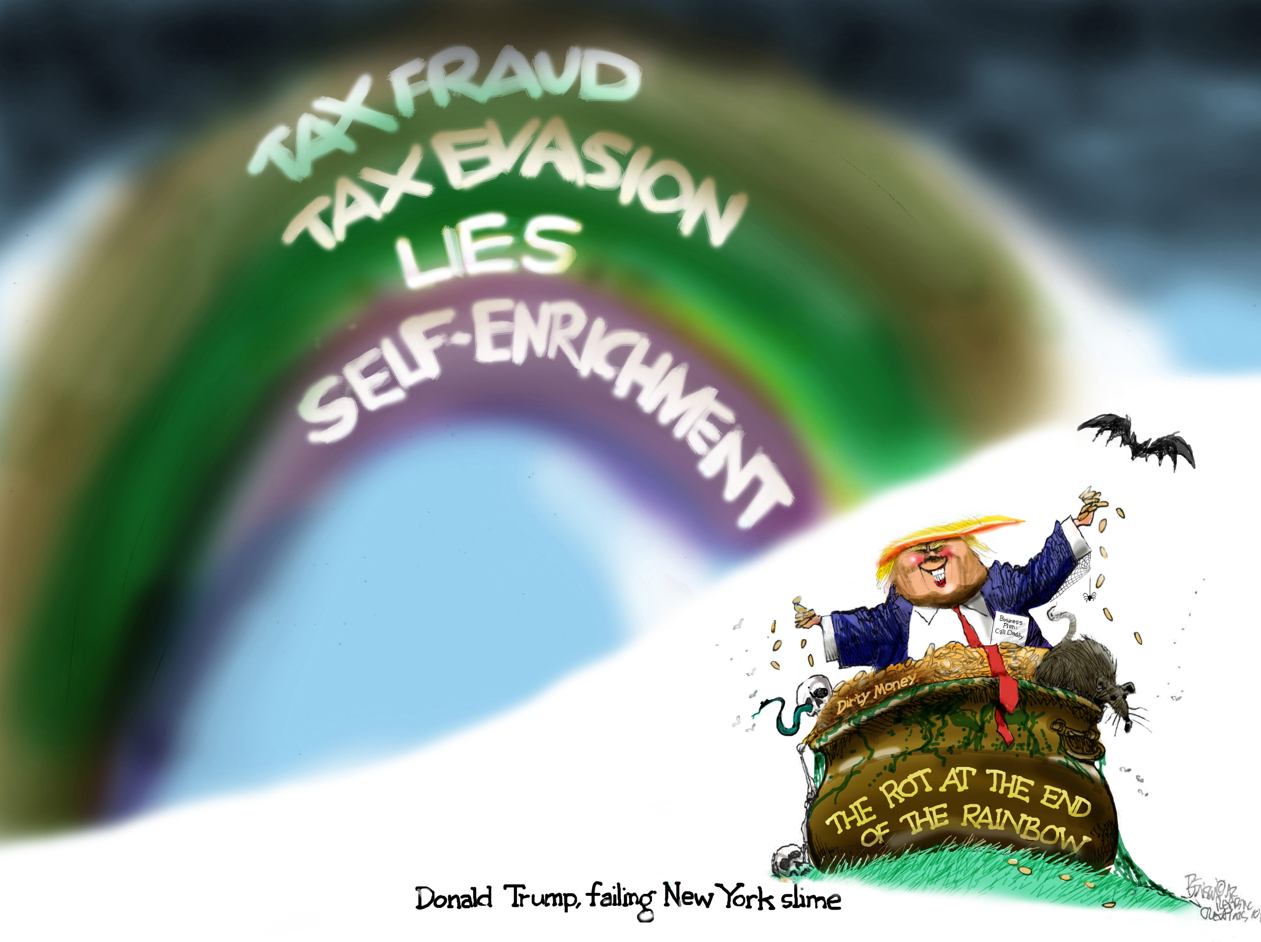 Cartoon for Oct. 4, 2018.