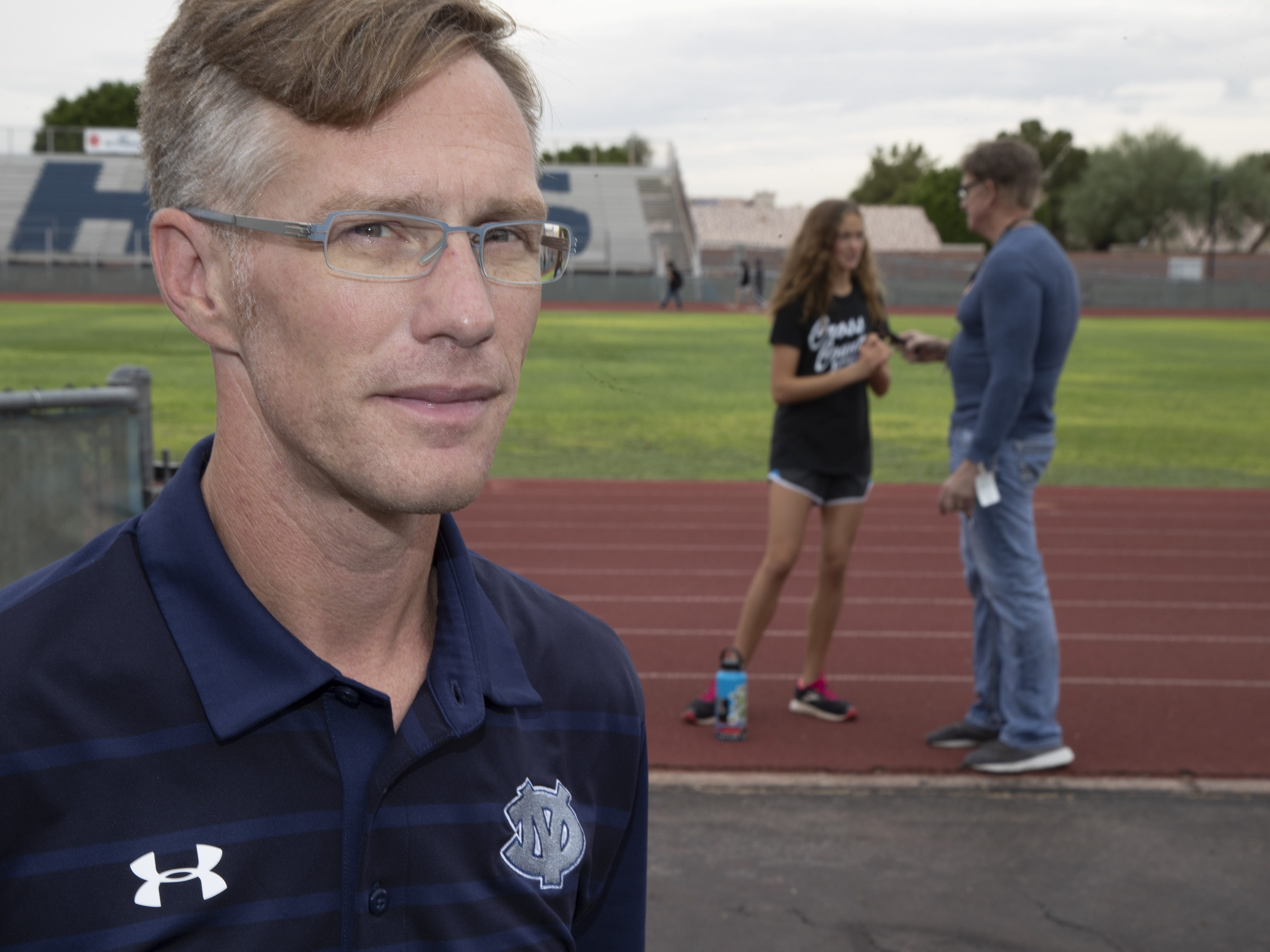 Glendale Deer Valley High School cross country coach Chris Zent.