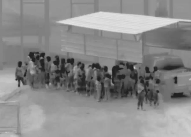 164 undocumented migrants were apprehended near San Luis
