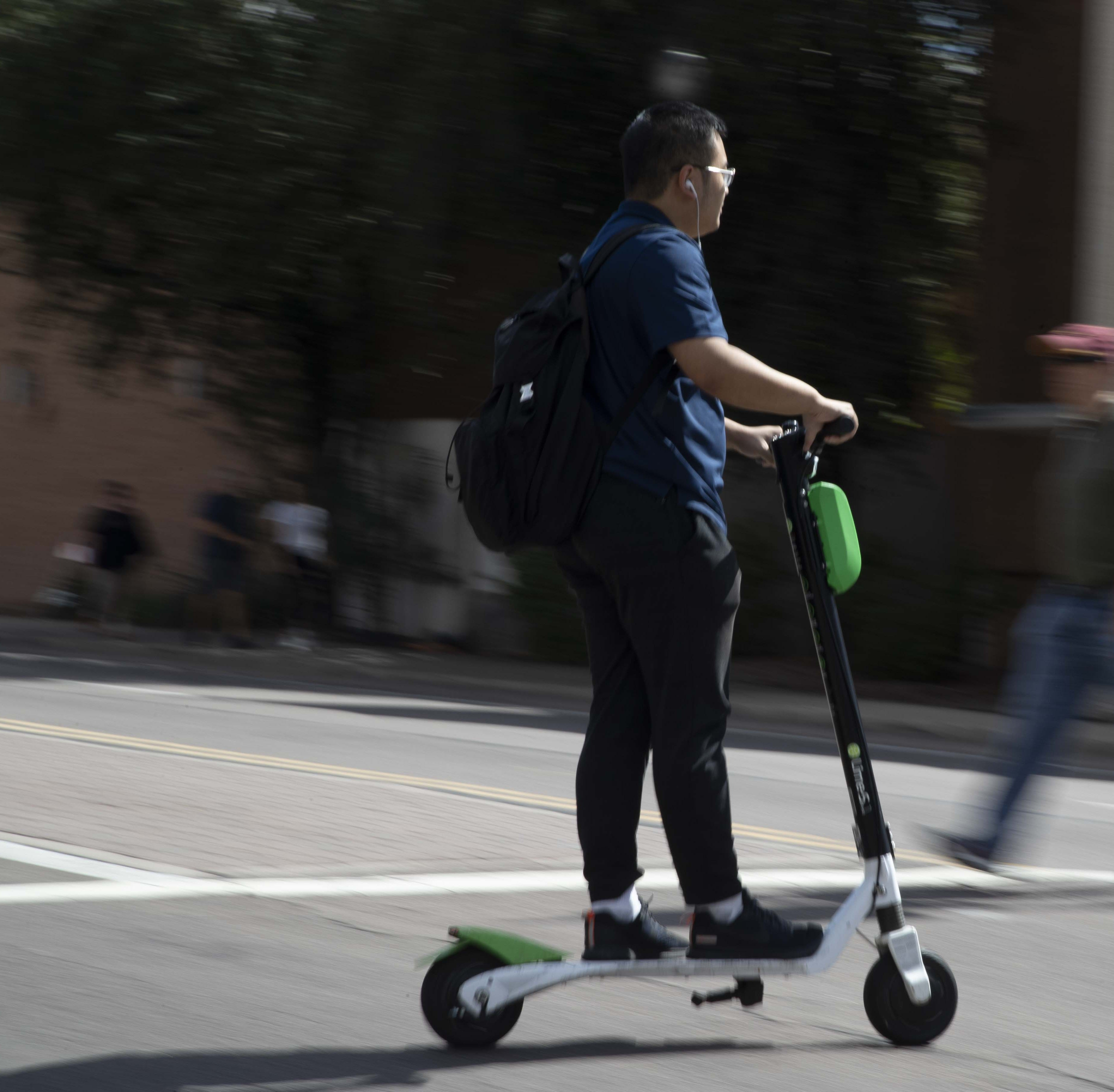 ASU will now impound electric scooters on Tempe campus