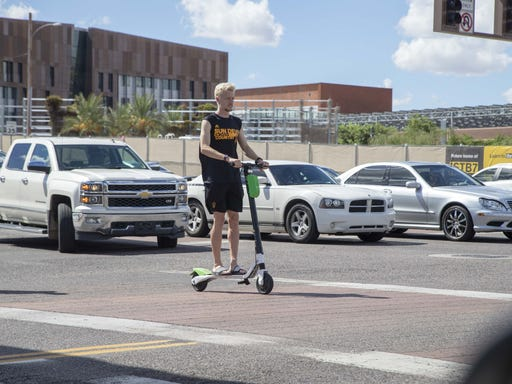 ASU has impounded 888 scooters, collected nearly $80K in impound fees