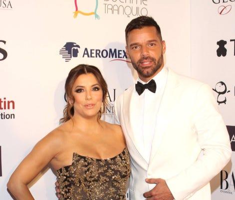 Eva Longoria Y Ricky Martin Lavoz