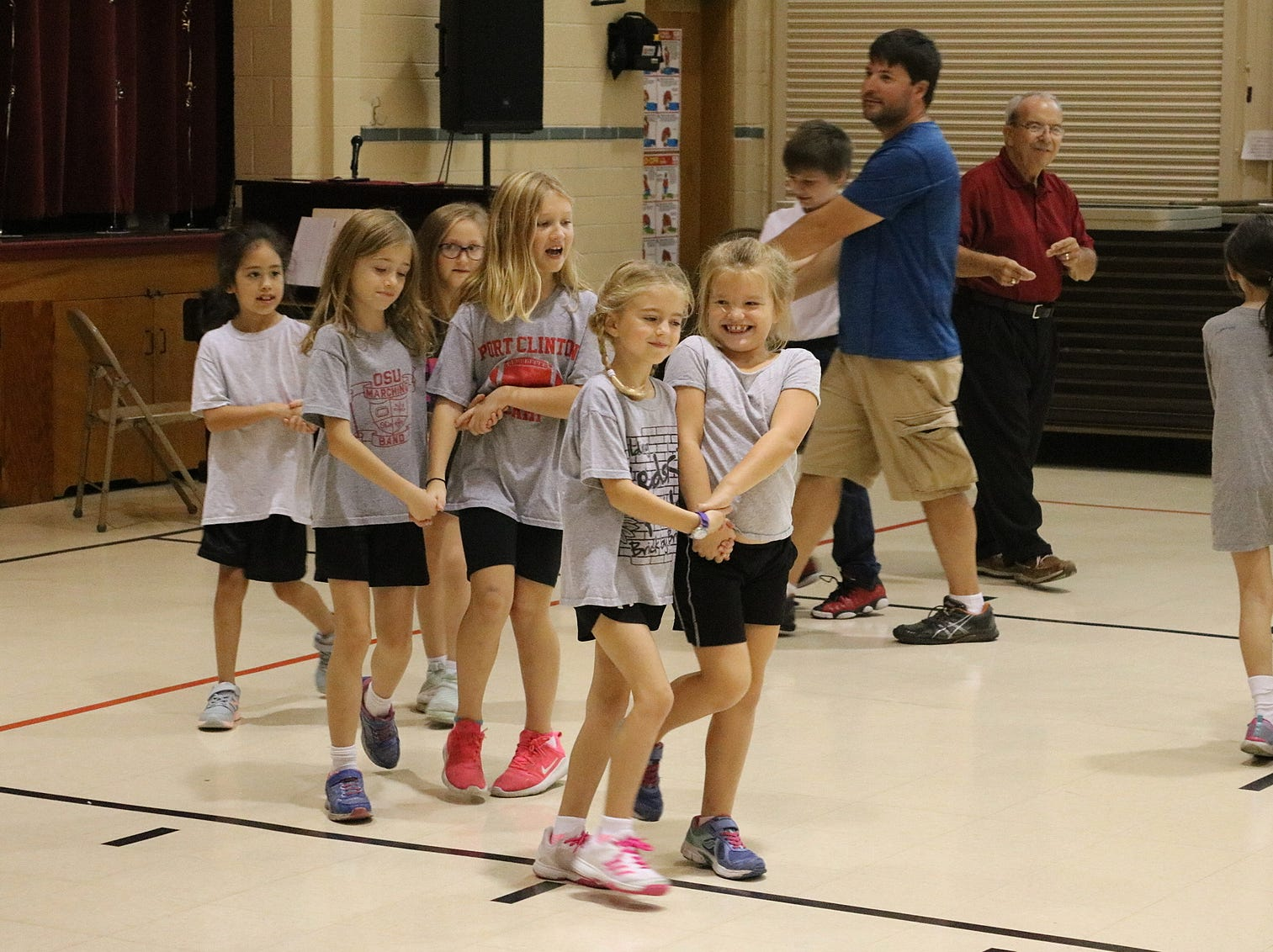 On Wednesday, students at Immaculate Conception School began to learn square dancing in preparation for the Boots and Buckles Pig Roast and Square Dance on Oct. 20.