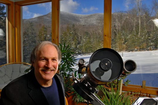 Astronomer and author Bob Berman runs Overlook Observatory at his home in Woodstock.