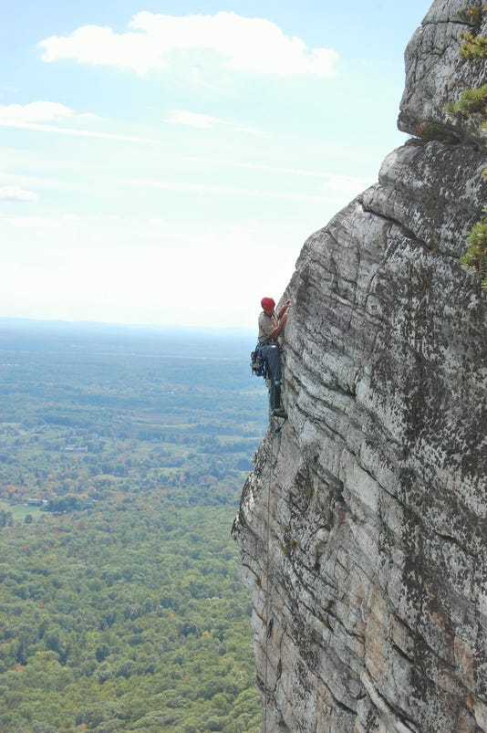 Climbing At Mohonk Preserve Photo By Frank Tkac