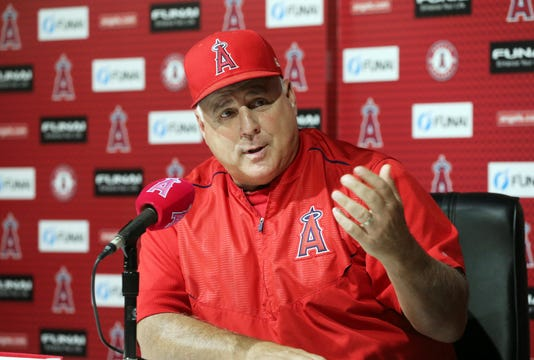 1bf5fce8422 Former Los Angeles Angels manager Mike Scioscia may be a candidate to  replace Buck Showalter as the manager of the Baltimore Orioles.