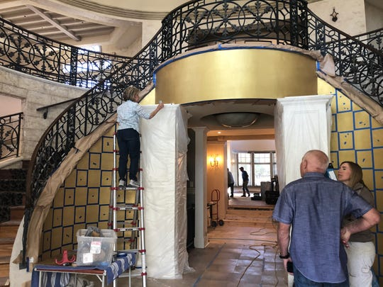 At the Rancharrah community in South Reno, renovations are underway to transform the former Harrah family mansion into the Club at Rancharrah, with food and drink amenities like a restaurant, wine lounge and outdoor family grilling area.