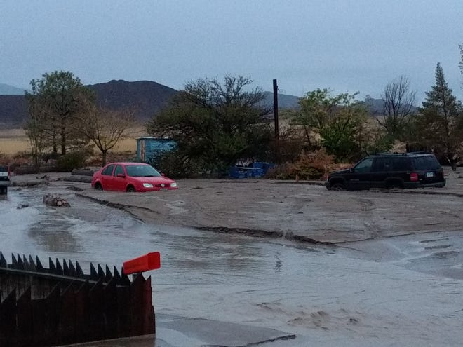 Portions of East Mason Valley experienced flooding Wednesday night.