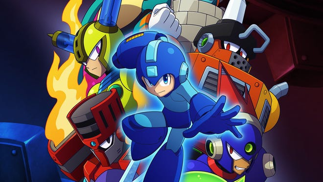 Mega Man 11 for PC, PS4, Switch and Xbox One.