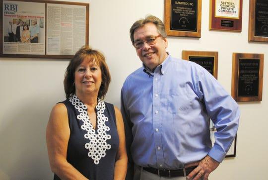 Surmotech President and CEO Susan Horne and CFO Jeff Thaler.