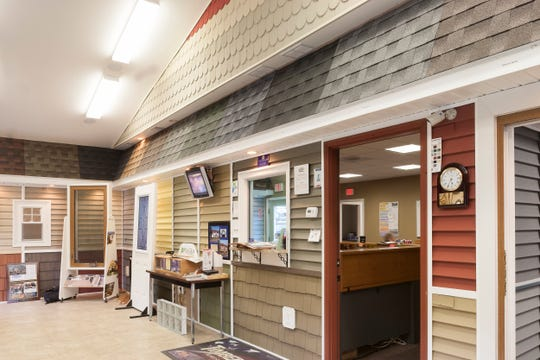 Marshall Exteriors' current showroom.