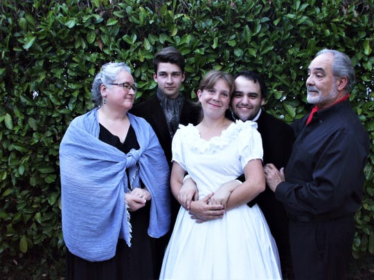 """World premiere staged readings of """"POE the musical,"""" with book, music and lyrics by Rachel Wolf."""