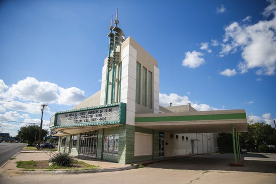 The San Angelo Civic Theater at 1936 Sherwood Way inSan Angelo.