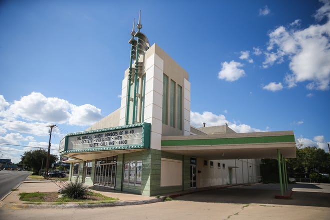 The Angelo Civic Theatre at 1936 Sherwood Way in San Angelo.