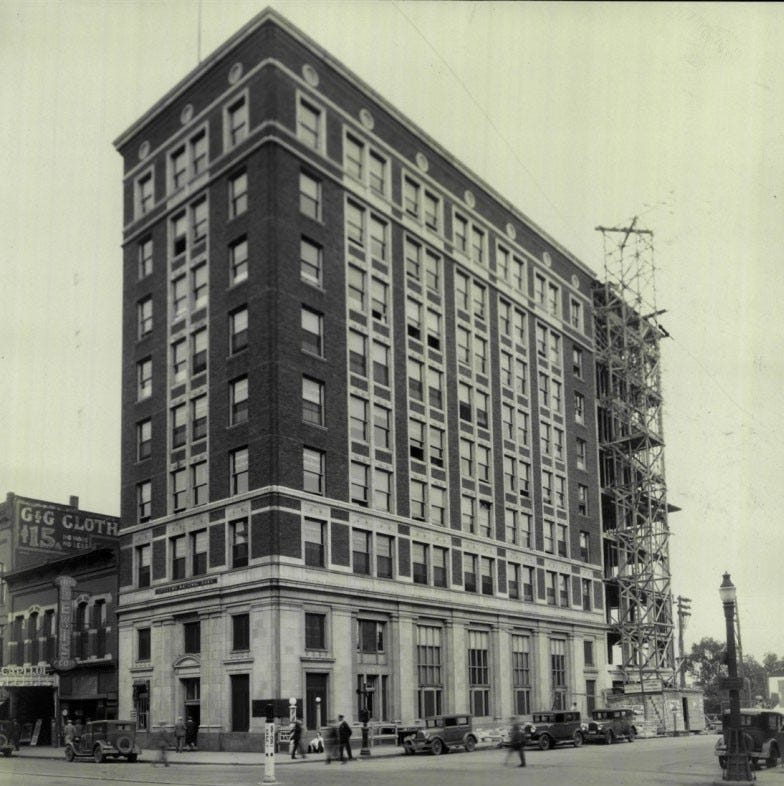 Looking Back: In 1918, 9-story building at 9th and Phillips was tallest in Dakotas