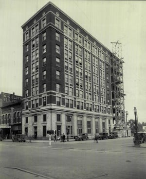 The Sioux Falls National Bank building at the northeast corner of Ninth Street and Phillips Avenue is a century old.