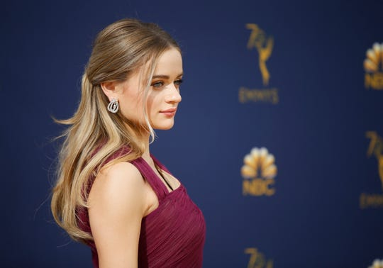 "Joey King was cast to play Gypsy Blanchard in a Hulu true-crime series about the Springfield case, ""The Act."" In this Sept. 17, 2018 photo, King arrives at the 70th Primetime Emmy Awards in Los Angeles."