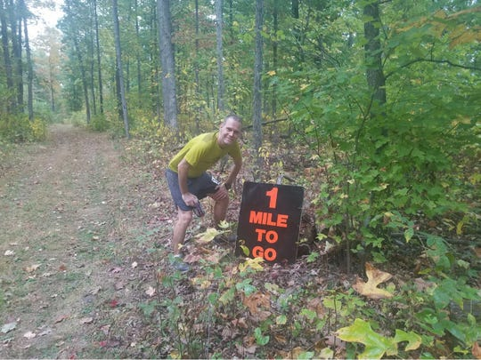 Marc Griffin will run his 10th Grindstone 100 this weekend in Swoope.
