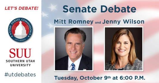 Senate Debate promo