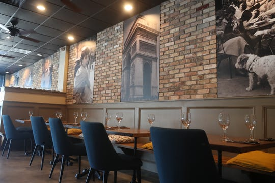 Little Paris, a new French restaurant opened its doors Thursday, Oct. 4, 2018 in Tallahassee, Fla.