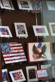The Tallahassee National Cemetery displays Maclay high school art students' work.