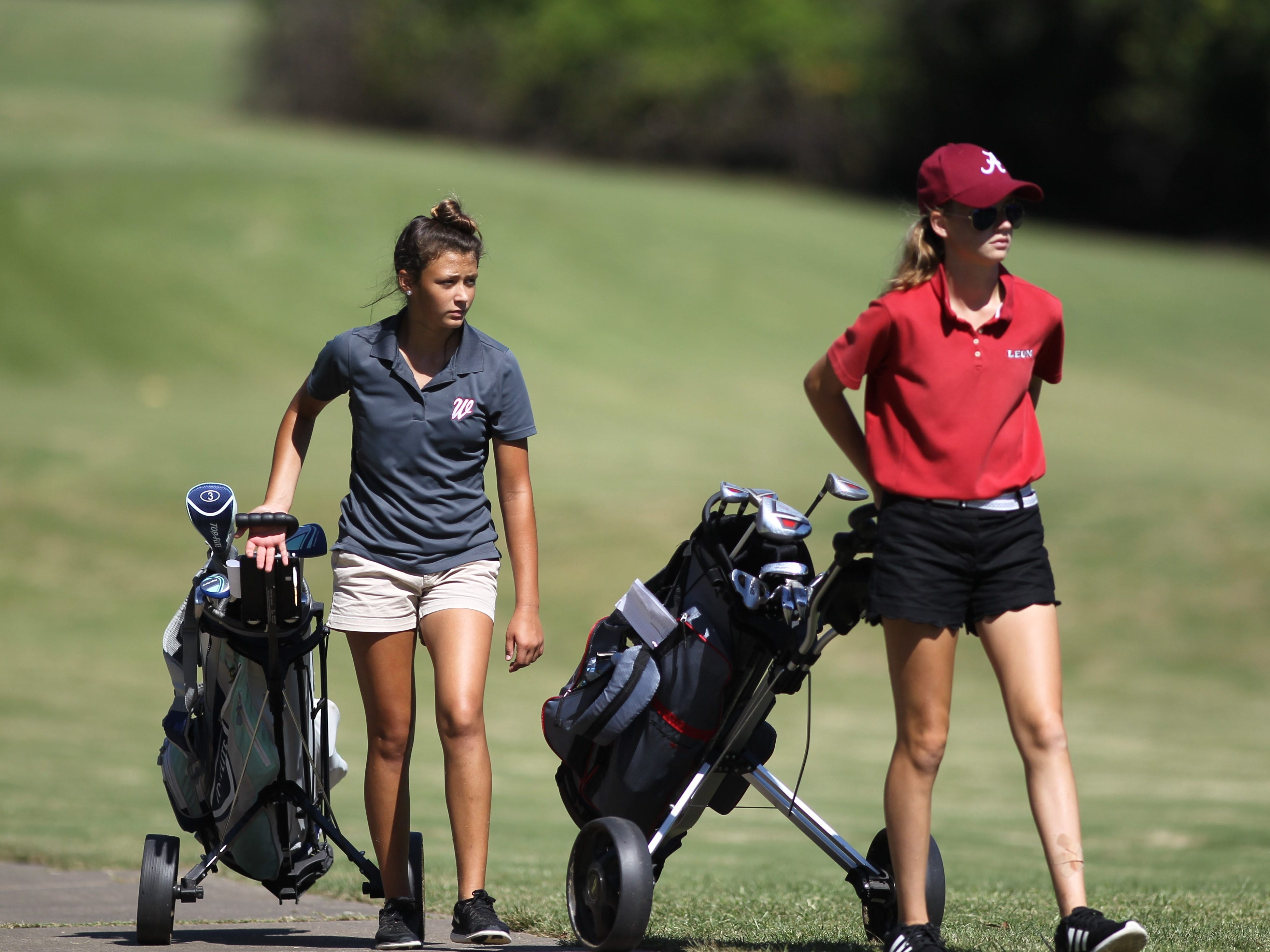 girls golf Panhandle Invitational at Killearn Country Club, Oct. 4, 2018.