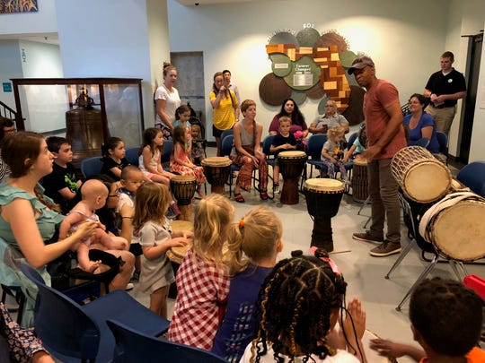 Second Saturday Family Program at the Museum of Florida HIstory.