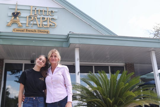 Little Paris, a new French restaurant in Market Square, opened Thursday, Oct. 4, 2018.