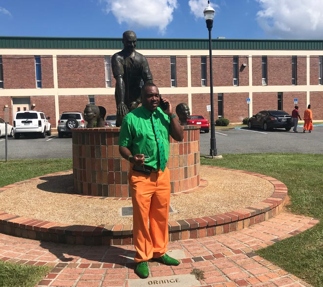 Kelvin Rosier is FAMU's senior associate athletics director of facilities and events. He spends countless hours overseeing projects for during homecoming week.