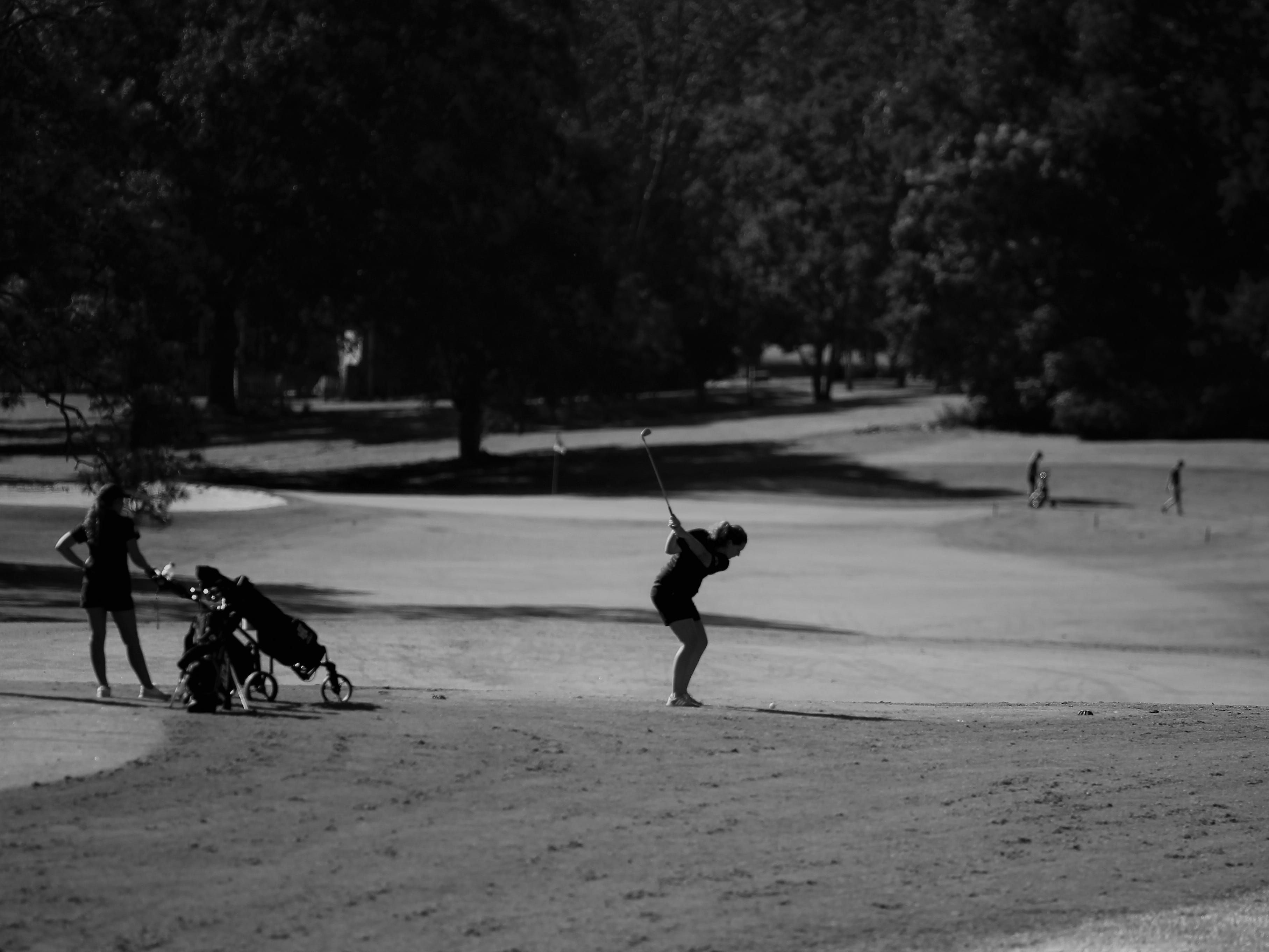 The girls golf Panhandle Invitational at Killearn Country Club, Oct. 4, 2018.