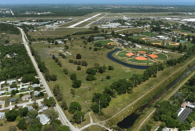 County officials on Friday cited the purchase of the former Dodgertown golf course and their agreement with Major League Baseball to create the Jackie Robinson Training Facility as major accomplishments in the past year.