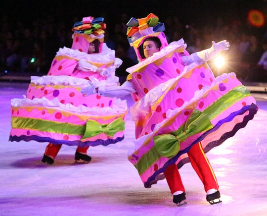 "Disney On Ice presents ""Dare to Dream"" during opening night Wednesday at the El Paso County Coliseum."