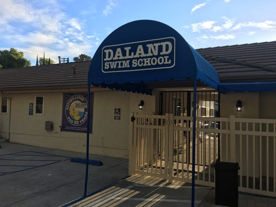 Several youths were taken to local hospitals after authorities said they were exposed to chemicals at Daland Swim School in Thousand Oaks on Oct. 3, 2018.