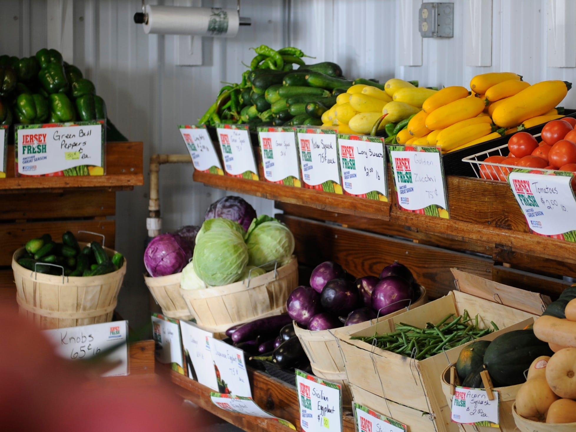 Muzzarelli Farms on East Oak Road in Vineland sells a large variety of fresh fall produce.