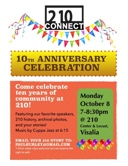210 Anniversary Celebration