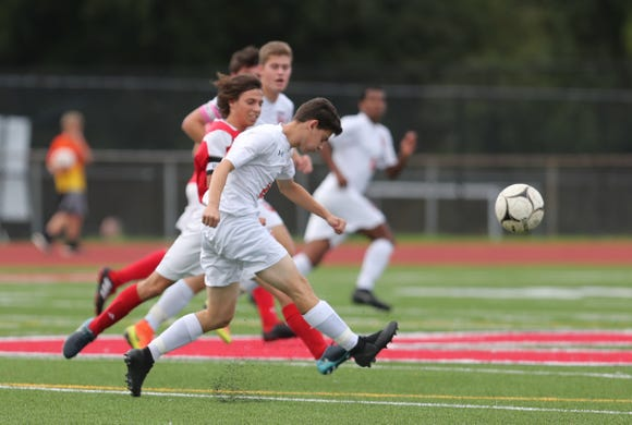 Horace Greeley defeats Somers 2-1 in boys soccer action at Somers High School in Kotonah on Wednesday, October 3, 2018.