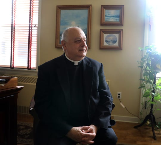 Father Joseph LaMorte who was named NY Archdiocese financial chief was photograph in his office at St. Gregory Barbarigo in Garnerville Oct. 3, 2018.