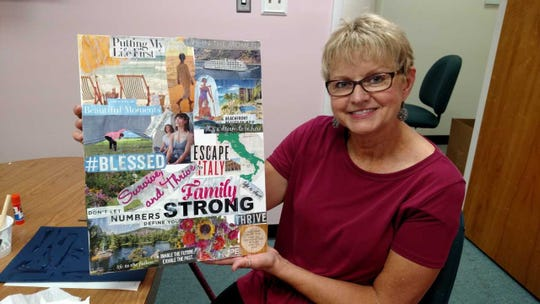 Marie Carey, of Dover, has been living with stage IV breast cancer since 2008. She recently joined the Delaware Breast Coalition's first support group for women with this type of terminal breast cancer.