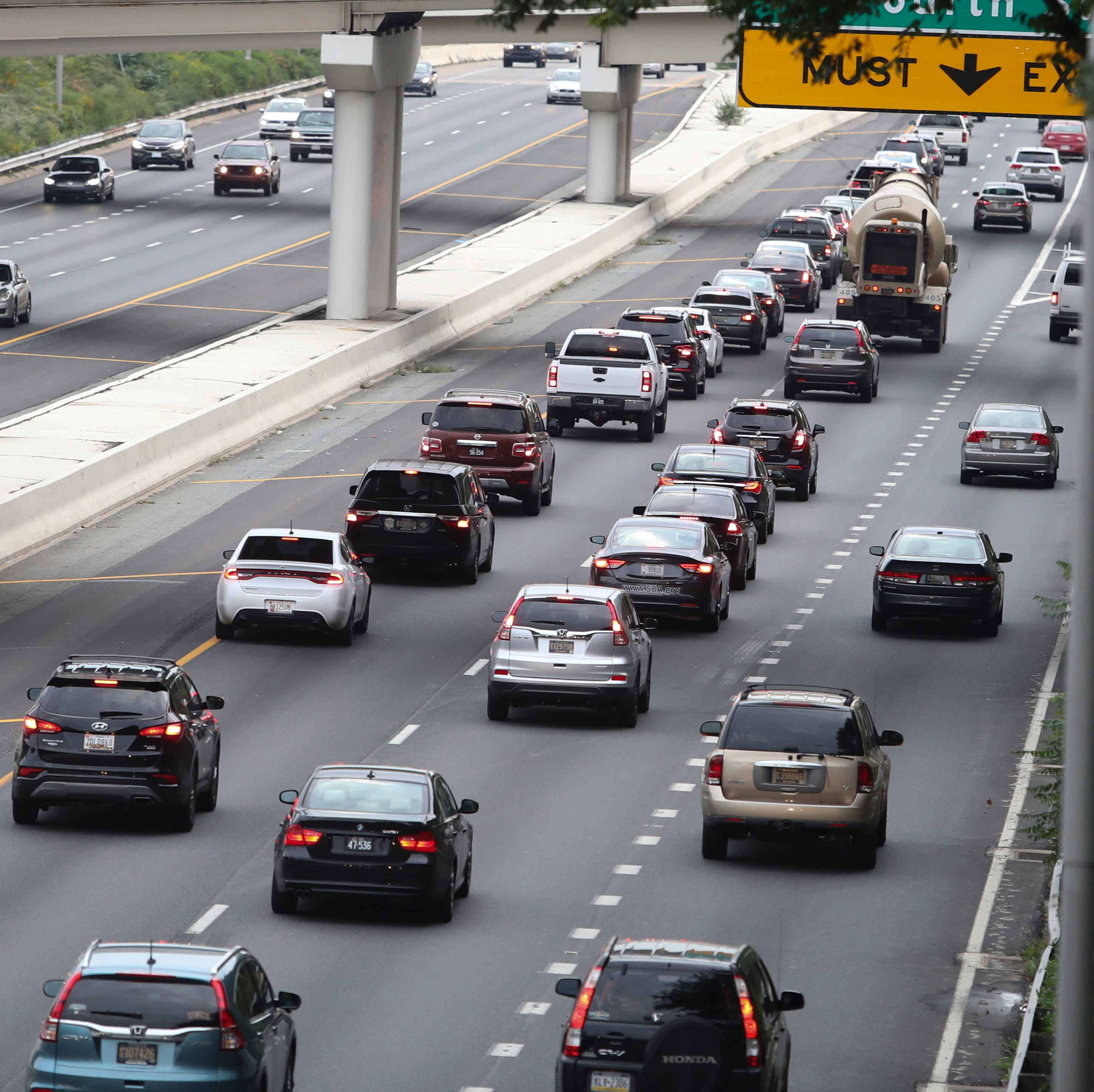 Traffic slows during late rush hour on I-95 in...