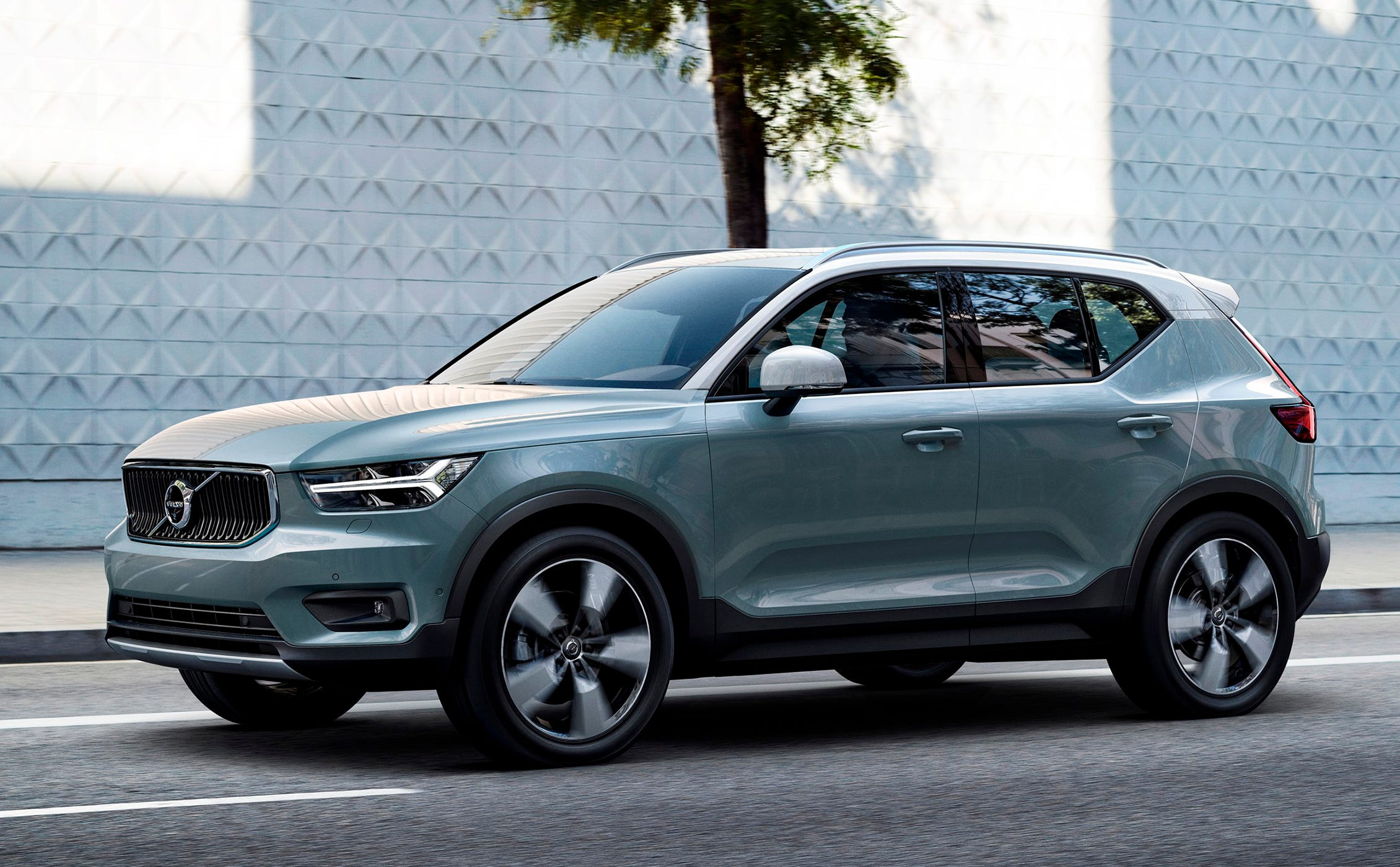 This undated photo provided by Volvo shows the 2019 Volvo XC40. Volvo offers plenty of safety features on the XC40. (Courtesy of Volvo Cars of North America via AP)