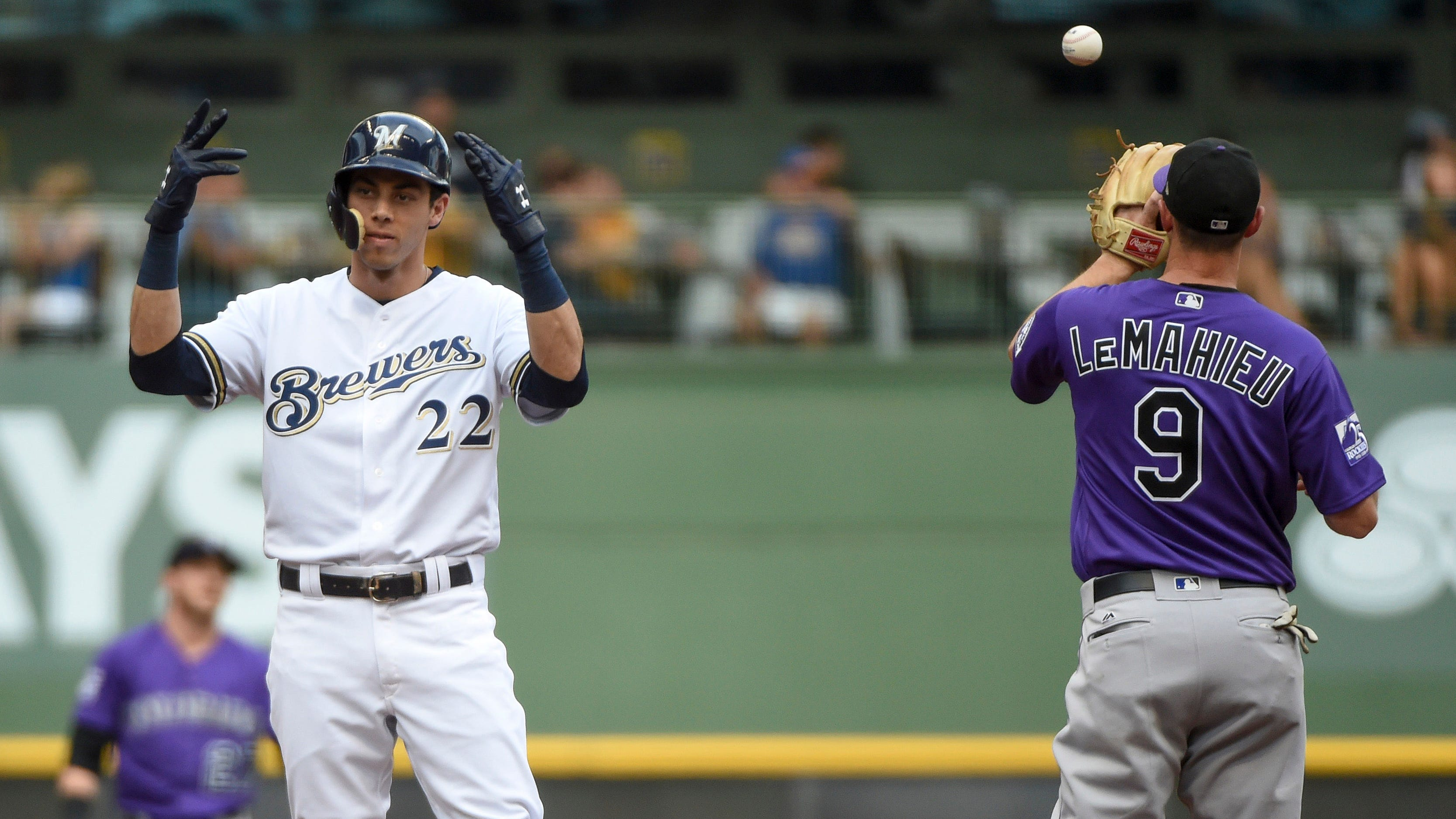 Image result for rockies brewers