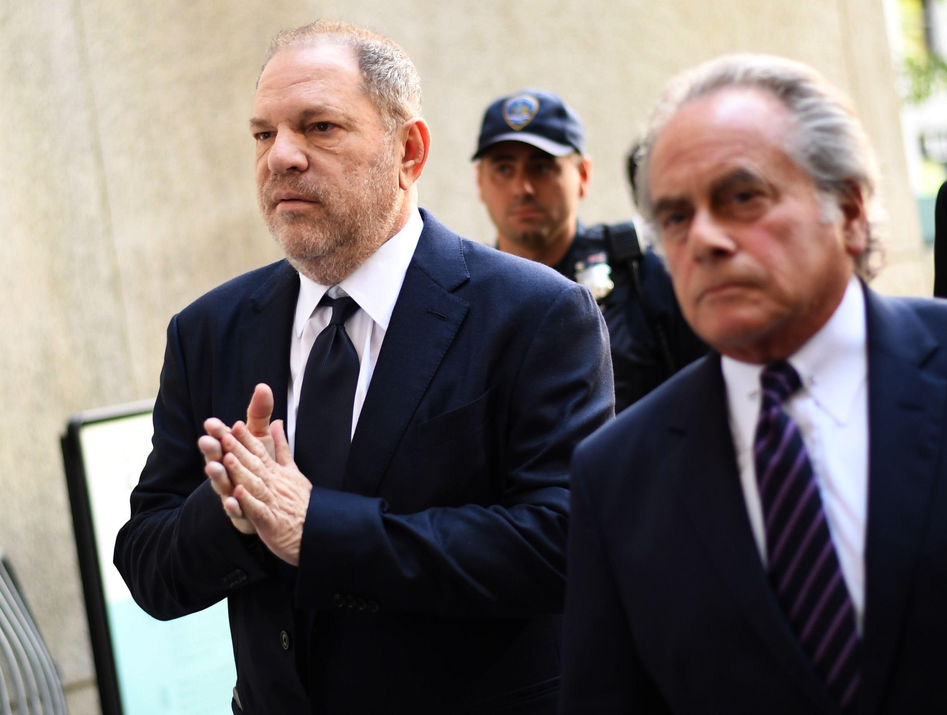 Prosecutor drops part of sex assault case against Harvey Weinstein