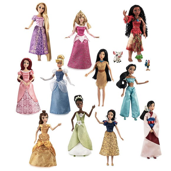Disney Princess 11 Inch Doll Gift Set is among the Top 15 Toys for 2018 from shopDisney and Disney store.