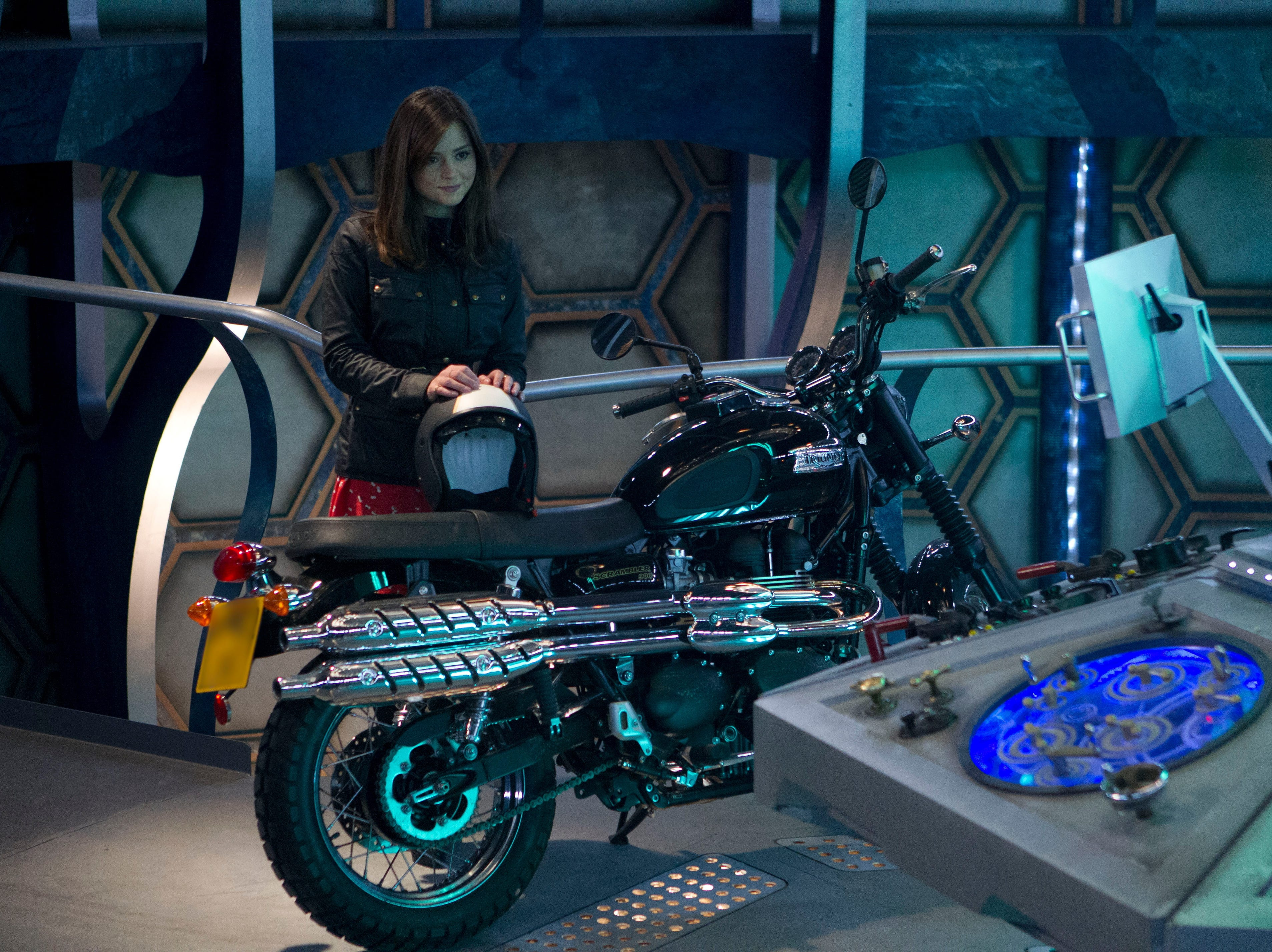 """Jenna Coleman came aboard the Tardis as companion Clara Oswald, traveling with both the Eleventh and Twelfth Doctors. Her most recent work includes her portrayal of Queen Victoria in PBS's """"Victoria."""""""