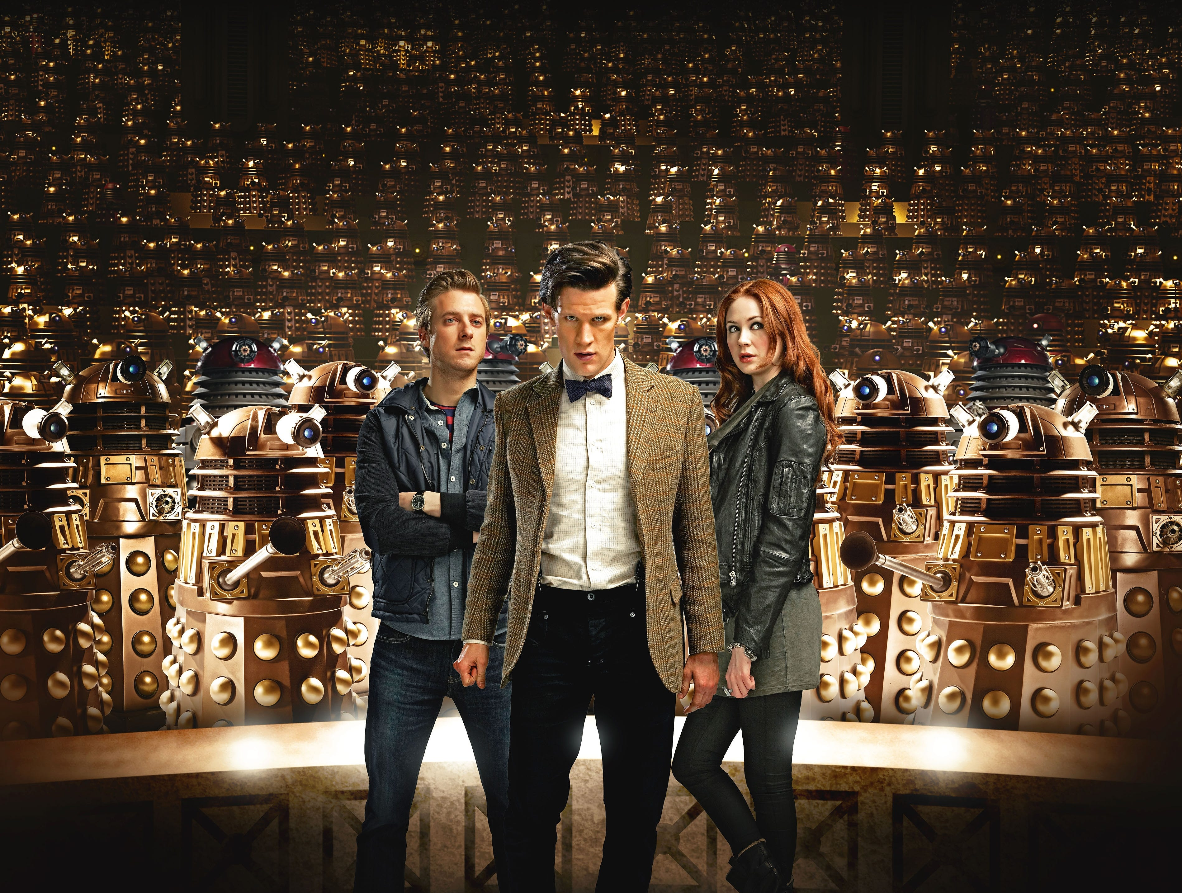 """The Eleventh Doctor was joined by Rory Williams (Arthur Darvill) and Amy Pond (Karen Gillan) with both spending several seasons with Smith. Gillan has become a Marvel movie mainstay, playing Nebula in the """"Guardians of the Galaxy"""" movies and """"Avengers: Infinity War."""" Darvill, meanwhile, was on the British series """"Broadchurch"""" and a recurring role on CW's """"DC's Legends of Tomorrow."""""""