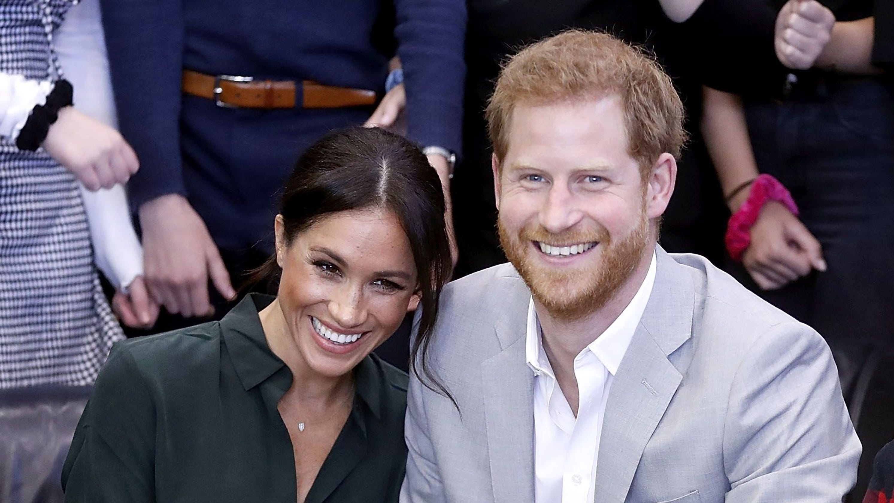 f7c4ec0519bc Meghan and Harry s royal PDA will make you swoon... or very jealous