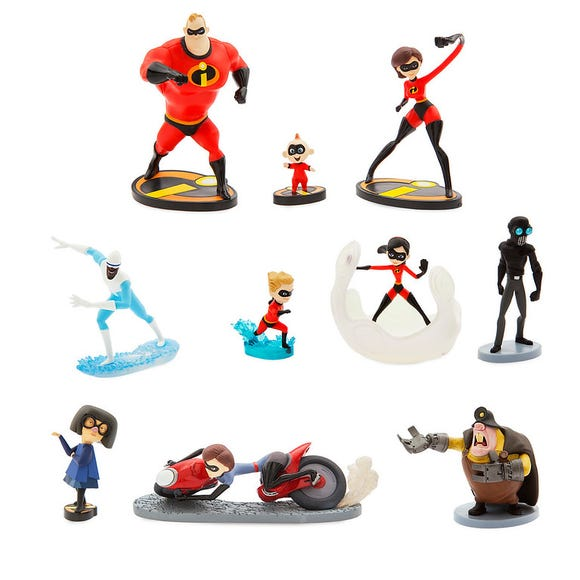 Incredibles 2 Deluxe Figure Set is among the Top 15 Toys for 2018 from shopDisney and Disney store.